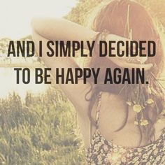 It doesn't come after something great happens. It comes when you consciously choose to be happy each and every day. What will you choose today? #smile