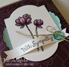 Bloom with Hope - Stampin' Up! created by Jen Arkfeld - Stamped Silly