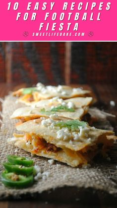 Chorizo and Potato Quesadillas with Spicy Ranchero Dipping Sauce – Fluffy flour tortillas are brushed with oil, stuffed, topped with Quesadilla cheese and quickly baked until cheese is bubbly. Top these quesadillas with my dreamy ranchero sauce made of Ranchero cheese, crema, cilantro, jalapeno and fresh lime juice. Grilling Recipes, Lunch Recipes, Dinner Recipes, Watermelon Salsa, Chorizo And Potato, Braised Brisket, Honey Sauce, Baked Chicken Wings, Beef Burgers