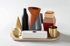 antonio aricò composes still alive set of desk-organizing objects for seletti