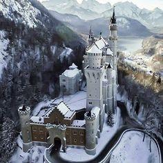 #Germania,Il Castello di Neuschwanstein,Semplicemente meraviglioso!