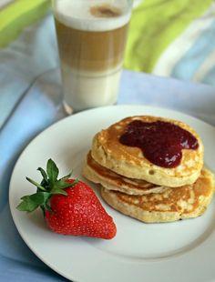 Banános amerikai palacsinta - Főzni jó sütni még jobb Pancakes, Food And Drink, Healthy, Breakfast, Recipes, Modern, Essen, Morning Coffee, Trendy Tree