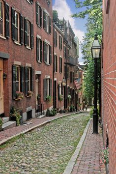 Brownstones - Beacon Hill, Boston, MA