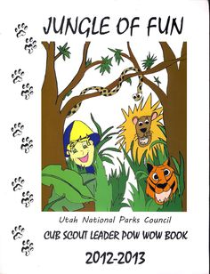 Utah National Parks Council Cub Scout Pow Wow Book for 2012-2013 is NOW available on amazon.com- I have this book, and love it! It has resources for each months' theme/core value & even has a whole Webelos section!