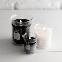DIY: Beaker Candles | Haus of Rebl