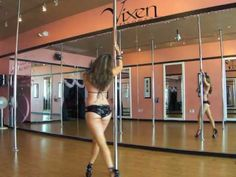 My first step... would take a week to just walk in those heels! Pole Dance Freestyle - Moby Porcelain very sexy and graceful