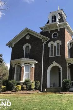 1872 Italianate For Sale In Philadelphia Tennessee — Captivating Houses Victorian Architecture, Architecture Old, Classical Architecture, Historical Architecture, Old Mansions, Mansions Homes, Victorian Style Homes, Victorian Houses, Old Abandoned Houses