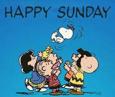 Peanuts.  Happy Sunday