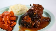 Mario Batali's Beer Braised Short Ribs