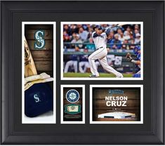 a70e373fac Nelson Cruz Seattle Mariners Framed 15