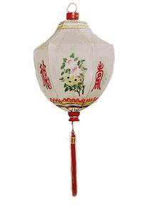 Small Shield Rustic Gauze Shanghai Lantern