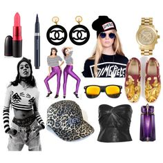 Coachella 2012 Artist Inspiration: Azealia Banks, created by rustedrevolution on Polyvore