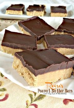 Reese's Peanut Butter Bars | Can't Stay Out of the Kitchen | these heavenly #brownies taste like eating #Reese'sPeanutButterCups! They're amazing. #chocolate #peanutbutter #dessert