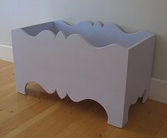 For only $560, this empty box can be yours!  But, it is pretty for a toy box.