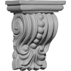 Palmetto Beaded - Urethane Corbel - #COR04X02X05PA