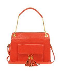 ASOS Tassel Chain Handle Bag