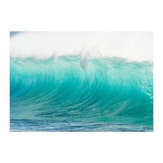 IKEA Hawaii Waves just got this for the wall above the stairs loooove