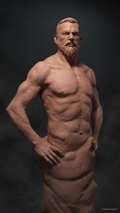 Torso Masculino - Escultura