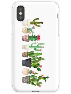 Cactus iPhone X Snap Case