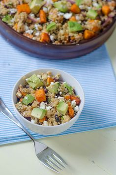 Sweet Potato-Black Bean Quinoa
