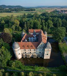 Wasserschloss Mitwitz in Oberfranken (Freiherren von Würtzburg, Familie von Cramer-Klett)