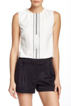 Embroidered Blouse by L.A.M.B. on @HauteLook