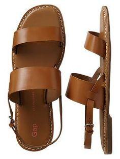 Wanting so many of Gap's sandals this season. Two-band sandals | Gap