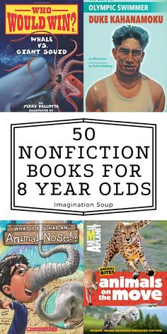 Nonfiction Books For Kids, Animal Noses, National Geographic Kids, Cute Twins, School Pictures, 8 Year Olds, Reading Strategies, Book Recommendations, Book Lists