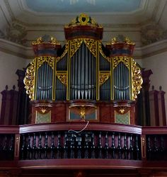 Zöblitz - Gottfried Silbermann orgel