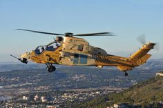Tiger attack helicopter takes to the skies in Malaysia Attack Helicopter, Military Helicopter, Military Aircraft, Stunt Plane, Tiger Attack, Airbus Helicopters, Modern Warfare, Air Show, France