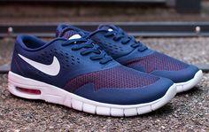 "Nike SB Koston 2 Max ""Midnight Navy & Lite Crimson"""