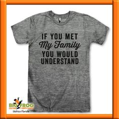 6461a6a17 ... Customize Yours Today at #BigFrog #Valrico #Brandon #CustomTee #Tshirt.  See more. Do you have one of those families? At Big Frog we can put what  makes