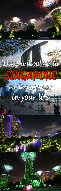 It's not our favorite city. But here is why you should visit Singapore at least once in your life #singapore