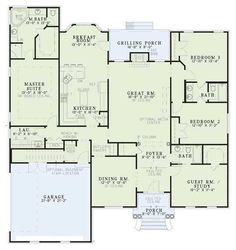 Nice Plan Maison Veranda that you must know, You?re in good company if you?re looking for Plan Maison Veranda Dream House Plans, House Floor Plans, My Dream Home, Dream Homes, Bedroom Layouts, House Layouts, Bedroom Ideas, Bedroom Decor, Casa Stark