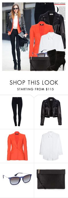 """Blogger style #177"" by theodoresquei ❤ liked on Polyvore featuring STELLA McCARTNEY, Yves Saint Laurent, dVb Victoria Beckham, Ray-Ban and Whistles"