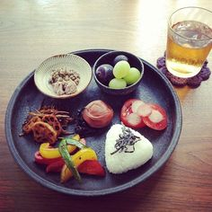 Japanese meal plate