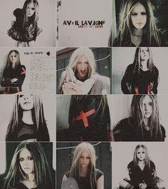 Avril my love. Avril Lavigne Style, Avril Lavigne Photos, Princesa Punk, Avril Levigne, Divas, Rock Queen, Pop Rock, Under My Skin, Black And White