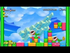 New Super Mario Bros. U - (Co-op) Acorn Plains-5 | Rise of the Piranha Plants Star Coins