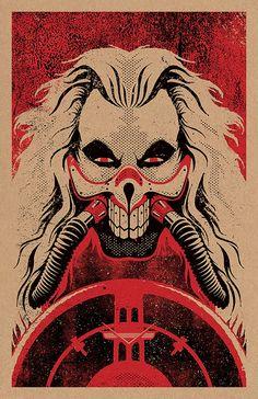 Mad Max: Immortan Joe Print 11x17