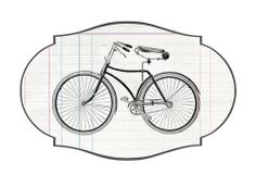 Vintage Bicycle (and more) - Free Printable