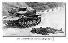A Polish tank destroyed; near it lies a dead Polish soldier Invasion Of Poland, Soviet Army, Ww2 Tanks, Military Equipment, World History, Retro, World War Two, Military Vehicles, Historia