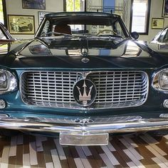 Old Maserati  #car #maserati #Modena #vintage #hdr