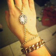 Slave bracelet..I'm a slave to DIY fashion