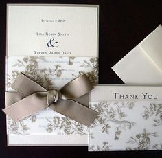 Wedding Stationery - Invites and inserts, RSVPs, Thank You  Cards, Escort Tags, Favour Labels, Place Cards, Menus, Programs and Table Numbers