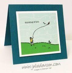 "Julie's Stamping Spot -- Stampin' Up! Project Ideas by Julie Davison: Happy Home ""Christoper Robin"" Card"