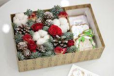Подарочный набор (15см) Новогодний с пряниками.