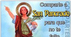 """COMPARTE A SAN PANCRACIO Y ESCRIBE """"AMEN"""" PARA TRABAJO Y DINERO URGENTE"""
