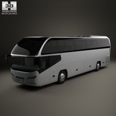 Neoplan Cityliner HD Bus 2006 3d model from Humster3D.com.