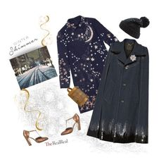 """""""Holiday Sparkle With The RealReal: Contest Entry"""" by dianefantasy ❤ liked on Polyvore featuring мода, Valentino, Marc Jacobs, Collection XIIX, Chanel и Salvatore Ferragamo"""