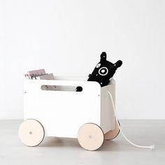 Ooh Noo Toy Chest On Wheel - 1